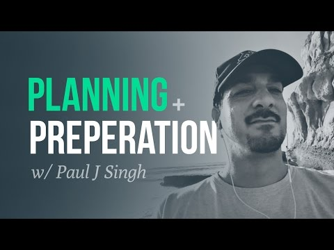 Planning & Preparation | Swing Trading Veteran, Paul Singh