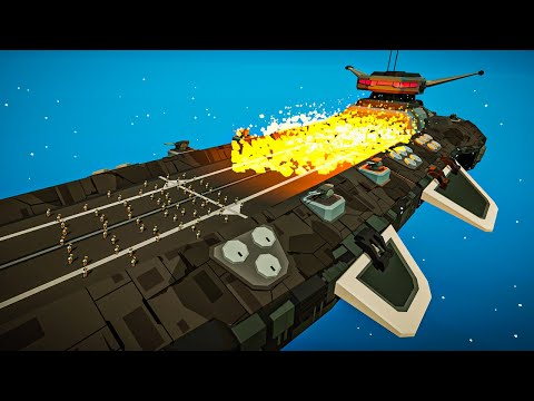 BattleDROID BOARDING PARTY on Our Spaceship in Deep Space Battle Simulator! |