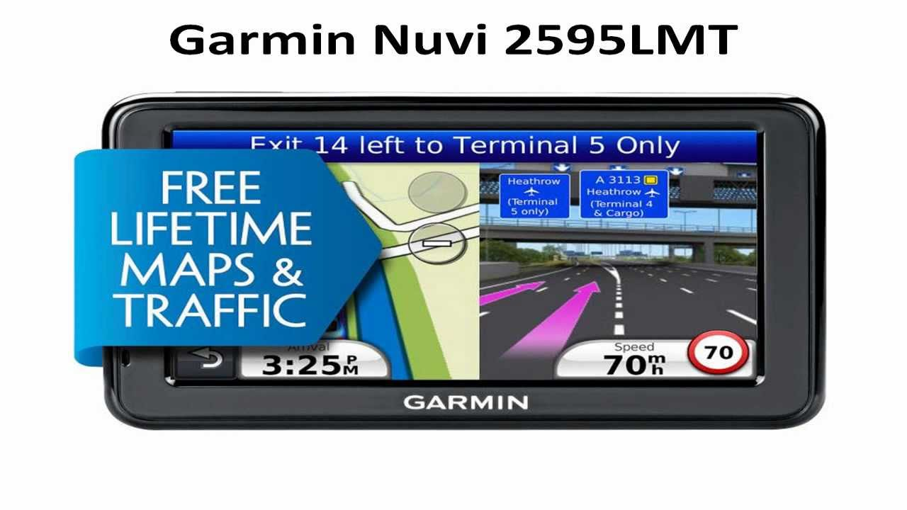 Garmin Nuvi 2595LMT SatNav Garmin Nuvi 2595LMT Overview ...