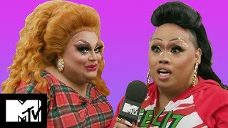 RuPaul's Drag Race Queens Play Never Have I Ever | MTV Life