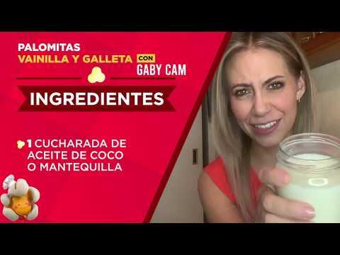 Palomitas Vainilla y  Galleta - Recetario de Palomino