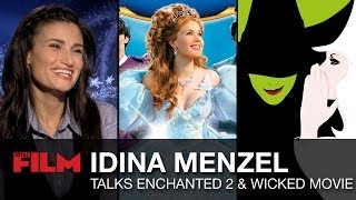 Idina Menzel chats Enchanted 2 and a Wicked movie