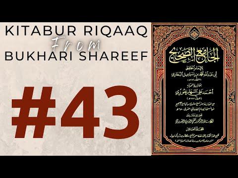 Qayaamat Me Zameen Kesi Hogi ?   Kitabur Riqaaq : Hadees #6519-6521   Mufti Ahmed Khanpuri   #43