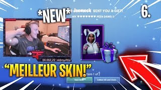 TFUE REACTED OF HIS RARE Bunny Brawler SKIN on FORTNITE (CADEAU)