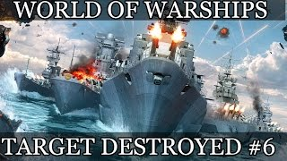 World of Warships Target destroyed #6