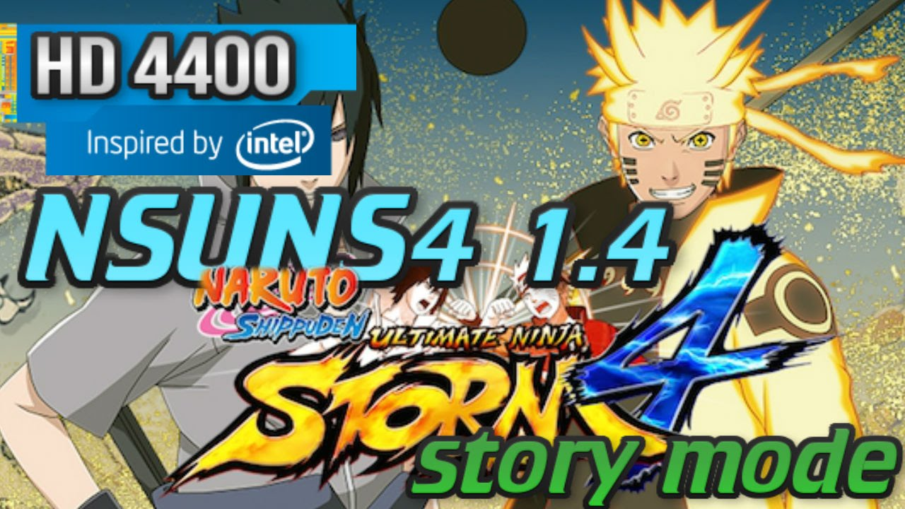 Naruto Shippuden Ultimate Ninja Storm 4 - Download Game PC
