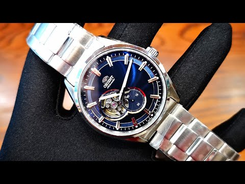 Orient Small Second Open Heart Blue RA-AR0003L00C