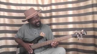 600 African Bass Guitar Tutorial   Grooves An Octave approach to Afro jazz  grooves part 1