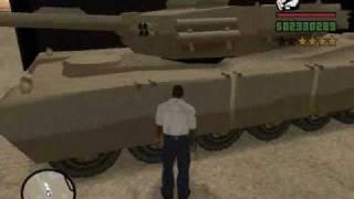 GTA SA Jak zdobyć czołg