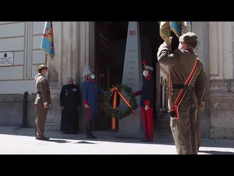 Homenaje a las víctimas del Covid en Valladolid