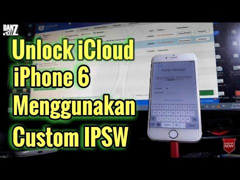 UNLOCk ICLOUD IPHONE 6 Ios 10.3.3 WITH CUSTOM IPSW