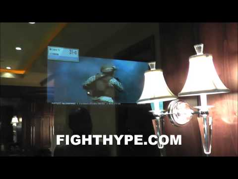 FLOYD MAYWEATHER'S BIG BOY TOYS: MIRROR TVS AND DITA SUNGLASSES