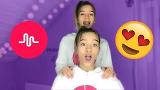 Lisa and Lena FEBRUARY Musical.ly Compilation 👯 | Lisaandlena