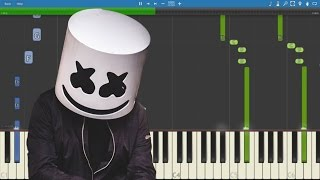 Marshmello ft. Wrabel - Ritual - Piano Tutorial - Instrumental