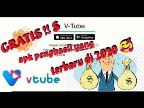 V Tube Gratis Apk Penghasil Uang Terbaru Hanya Dengan Nonton Video Link Daftar Apk Di Diskripsi Youtube