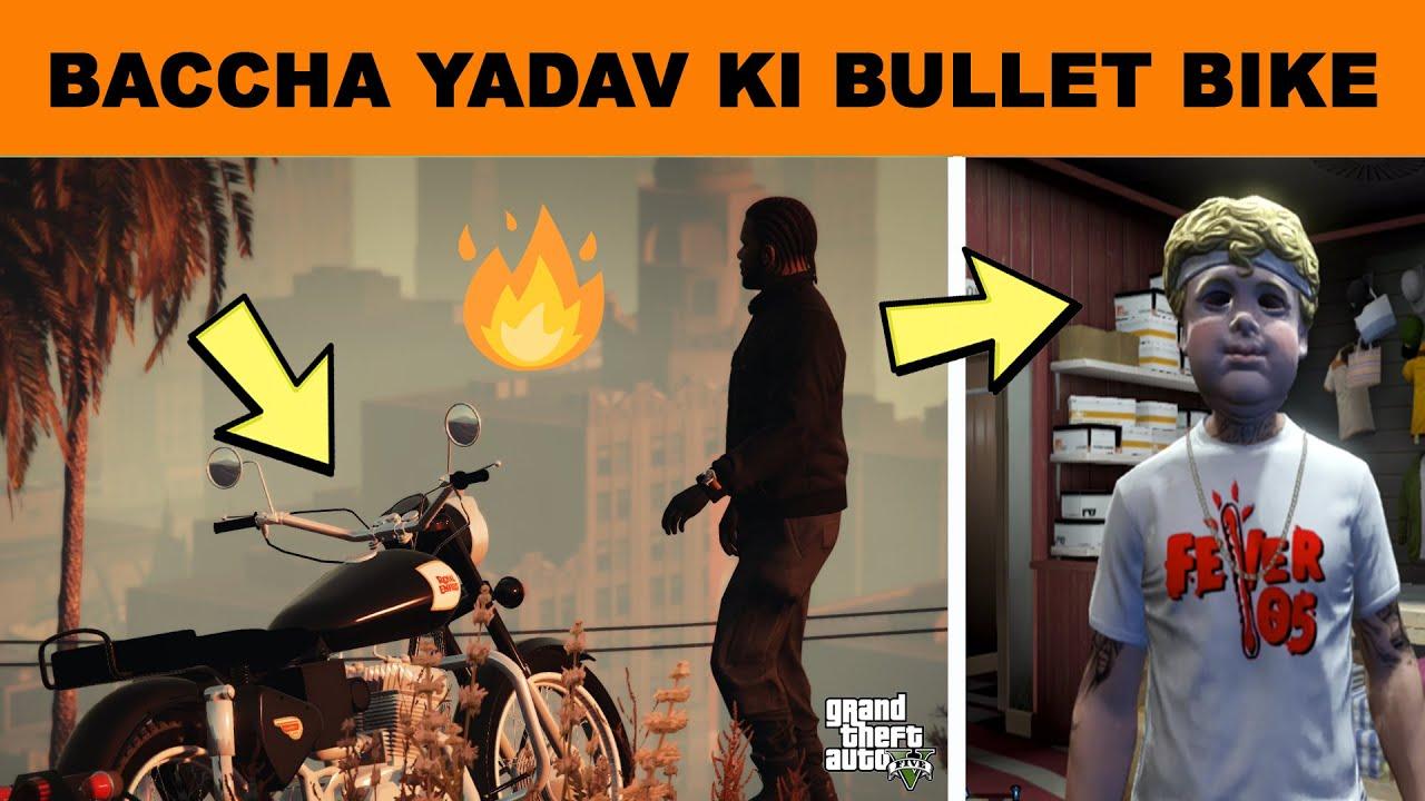 GTA 5 - STEALING IMPORTED ROYAL ENFIELD (BULLET) FROM INDIA | GTA V GAMEPLAY #8 | (HINDI)