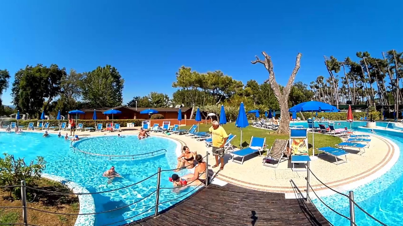 Video 360 della piscina al camping village settebello di - Piscina agora latina ...