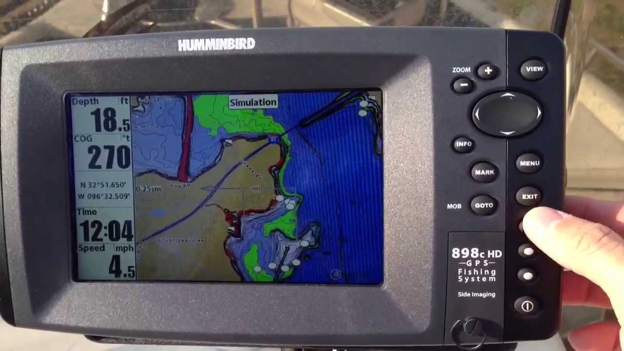 humminbird screen view tips - youtube, Fish Finder