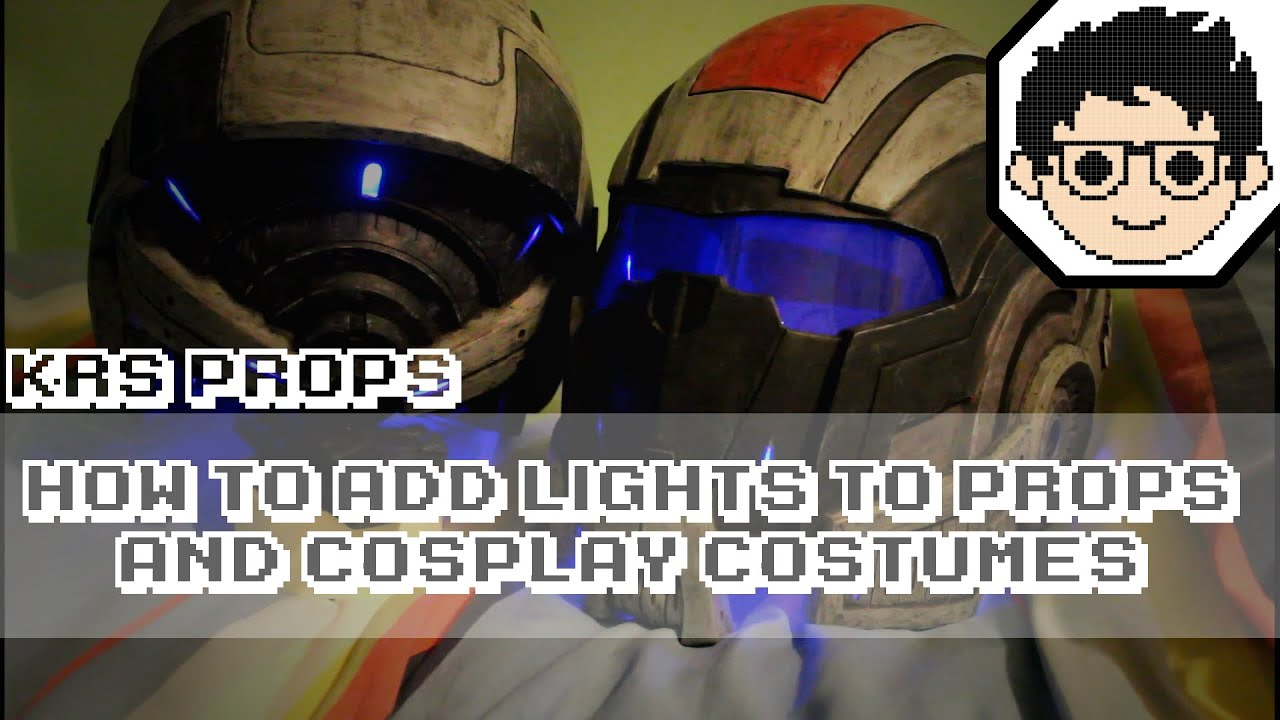 How to add LEDs and Lights to Props and Cosplay Costumes  YouTube