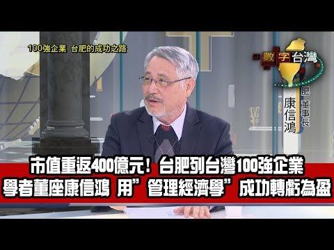 數字台灣HD245 100強企業 台肥的成功之路 謝金河 康信鴻