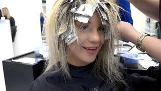 Vlogg | Färgar håret ROSA!