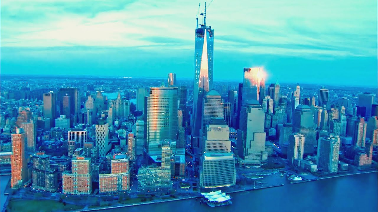 New York City Aerial View Videos, Best of NYC - YouTube