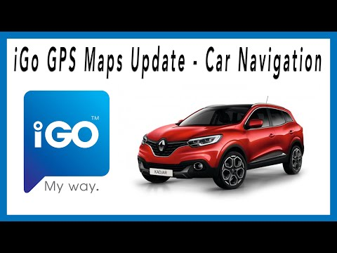 iGo Primo GPS Maps Update - Car Navigation