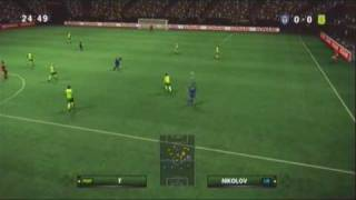 Pro Evolution Soccer 2010 Become a Legend  Gameplay