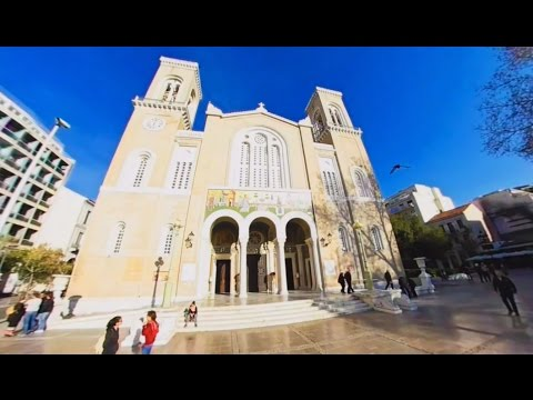 360 VR Tour   Athens   Metropolitan Cathedral of Athens   Inside and outside   No comments tour