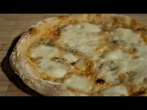 garlic-cream-sauce-sourdough-pizza|81%-high-hydration|italian-flour-00