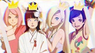 Kunoichis Naruto「AMV」Kings & Queens
