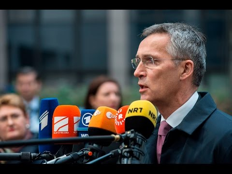 NATO Secretary General at the European Union Foreign Affairs Council, 15 NOV 2016