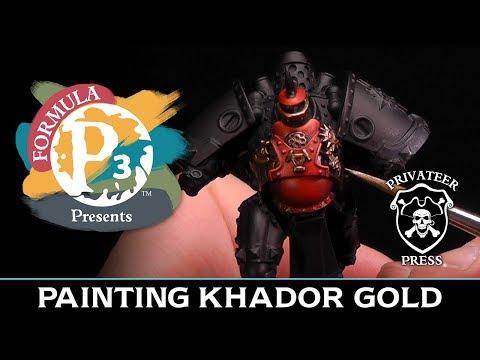 Formula P3 Presents: Painting Khador Gold