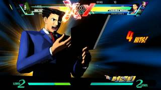 Repeat youtube video UMVC3 Phoenix Wright Quotes (W/ Eng & Jap Voices)