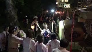 2018年7月15日 三重県四日市市 聖武天皇社前.