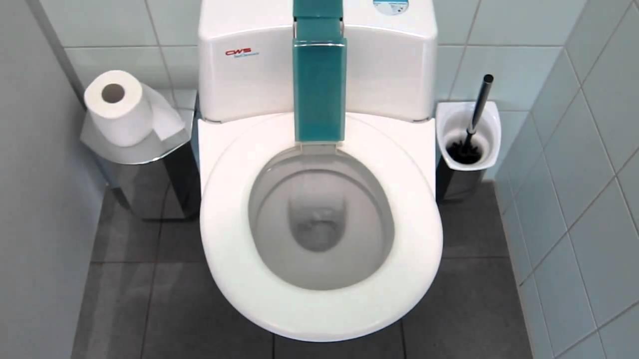 German Rest Stop Toilet - YouTube