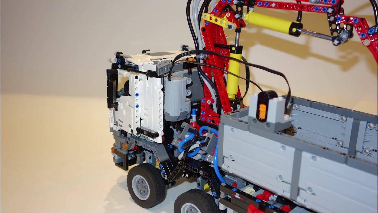 ultimate modification lego technic 42043 mercedes benz. Black Bedroom Furniture Sets. Home Design Ideas