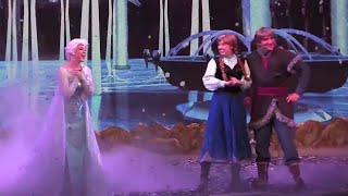 FULL New Frozen Summer Fun Sing-a-long stage show 2015 with projections at Walt Disney World