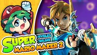 ¡3 nivelazos Zelderos! - Super Mario Maker 2 (Niveles Online) DSimphony