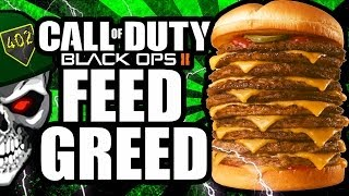 Black Ops 2 - How I Unlocked The Feed Greed Playercard! R.I.P COD ELITE