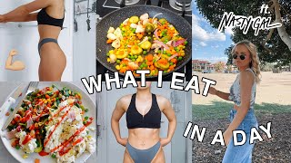 WHAT I EAT IN A DAY! | FOR HEALTHY WEIGHT LOSS | | ft. NASTY GAL HAUL | REALISTIC | Conagh Kathleen