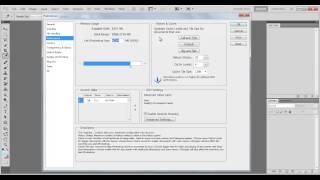 Ускорить работу фотошопа(В этом видео я вам покажу как ускорить работу фотошопа для более слабеньких компьютеров., 2013-04-03T14:30:14.000Z)