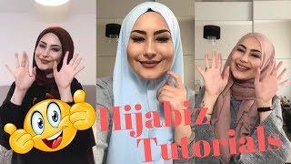 لفات حجاب تركية تناسب دخولك المدرسي - الجزء الرابع