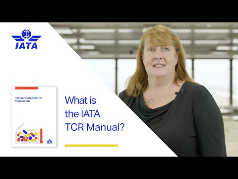 What is IATAs Temperature Control Regulations Manual?