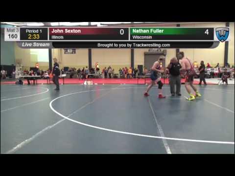 2156 Cadet Men 160 John Sexton Illinois vs Nathan Fuller Wisconsin 7859941104