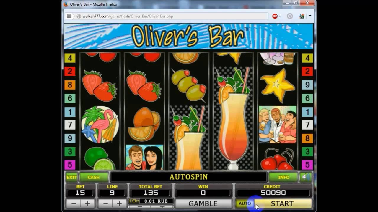 Бесплатные игровые автоматы Оливер Бар онлайн
