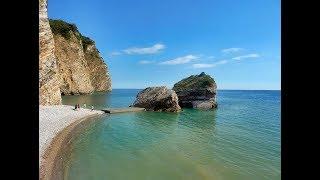 Остров Святого Николая .Пляж,ресторан. Будва.Черногория
