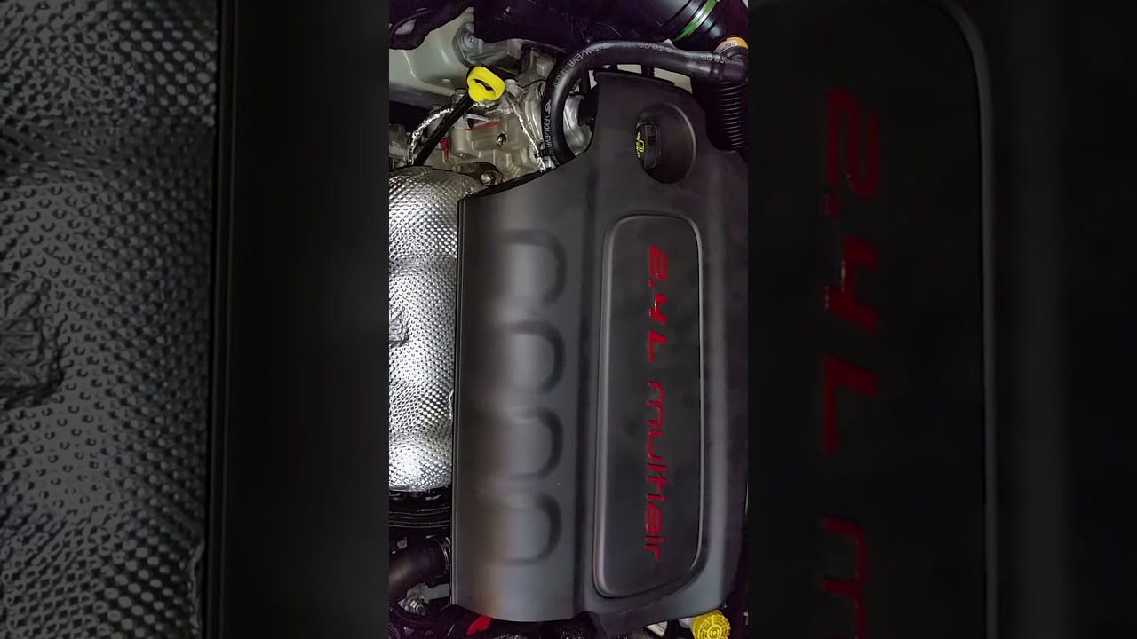 2015 2018 jeep renegade tigershark 2 4l i4 engine idling after serpentine accessory belt change [ 1280 x 720 Pixel ]