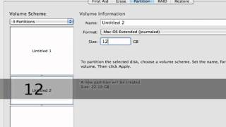 Partition your Hard Drive in Mac OS X - Free