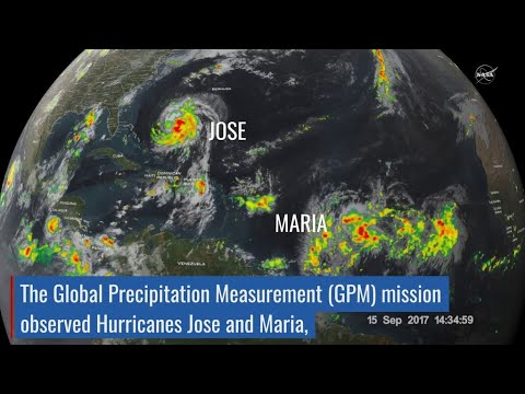 NASA Catches Hurricanes Jose and Maria